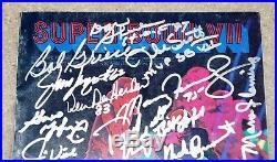1972 MIAMI DOLPHINS 17-0 Team Signed Auto Super Bowl SB VII Program + JSA COA