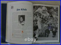 1972 Miami Dolphins Autographed The Perfect Season Book Csonka 50 Sigs
