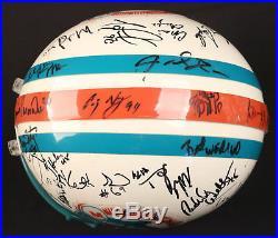 1993 Miami Dolphins Team Signed Authentic Full Size Helmet Dan Marino Beckett