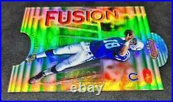 1998 Bowman's Best Fusions Refractor Peyton Manning/Dan Marino RC RARE /100