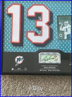 2002 Absolute Memorabilia Signed Auto Autograph Dan Marino Miami Dolphins 4/10
