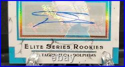 2020 Donruss Optic Tua Tagovailoa Auto! Elite Rookie Series #11/25! Miami NM