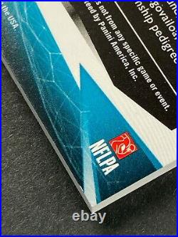 2020 Limited Tua Tagovailoa 3 Color RC Patch On Card Auto RPA /10 Miami Dolphins
