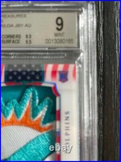 2020 National Treasures RPA Stars and Stripes /20 Tua Tagovailoa BGS 9 POP 2 S59