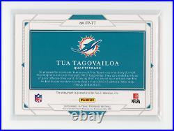 2020 National Treasures TUA TAGOVAILOA SP RC Field Pass On Card Autograph 06/99