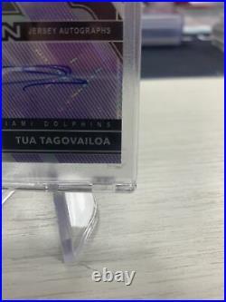 2020 Obsidian Football FOTL Purple Etch Tua Tagovailoa RPA 24/40