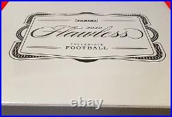 2020 Panini Flawless Collegiate Football Hobby Box (1) Factory Sealed! HOT