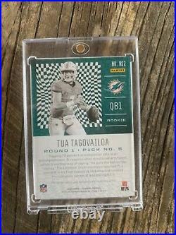 2020 Panini Illusions Tua Tagovailoa Rookie Signs Auto 24/25 Dolphins