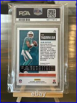 2020 Playoff Tua Tagovailoa Rc Contenders Preview Auto Blue 9/10 Psa 10 Dolphins