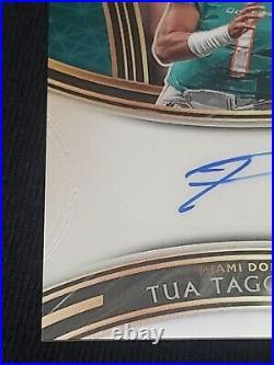 2020 Select Tua Tagovailoa Rc Auto Autograph Rookie Card Dolphins