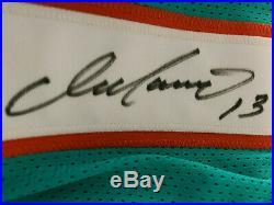 Authentic Dan Marino Signed Jersey Miami Dolphins Psa Verified