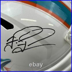 Autographed/Signed TUA TAGOVAILOA Miami Dolphins Full Size Helmet Fanatics COA