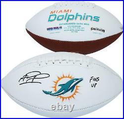 Autographed Tua Tagovailoa Dolphins Football Fanatics Authentic COA