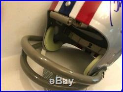 Bob Griese Signed Pabst Blue Ribbon TK'70s F/S Helmet Miami Dolphins Beckett