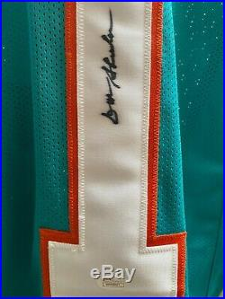 Coach Don Shula HOFer Autographed/Signed Jersey Miami Dolphins Decesase JSA