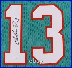 Dan Marino #13 Signed 35x43 Custom Framed Jersey (JSA Witness COA)
