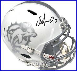 Dan Marino #13 Signed Miami Dolphins Ice F/s Football Helmet Psa/dna Hof