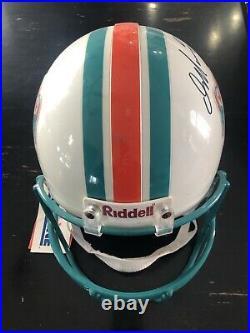 Dan Marino Auto Signed Miami Dolphins Pro Line Riddell Full Size Helmet