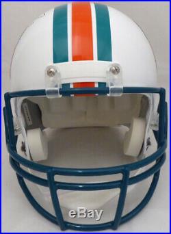 Dan Marino Autographed Dolphins Full Size Throwback Helmet Beckett 137988