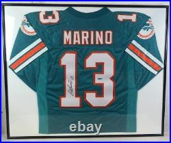 Dan Marino Autographed & Framed Miami Dolphins Jersey Auto COA Upper Deck