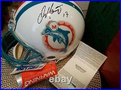 Dan Marino Autographed Full Size Helmet Upper Deck Authenticated