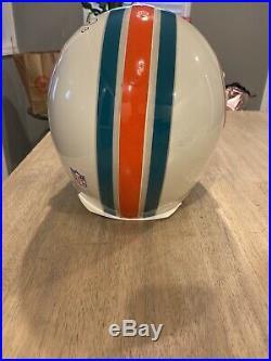 Dan Marino Autographed Miami Dolphins Authentic Helmet UDA COA Matching Hologram