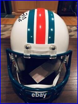 Dan Marino Autographed Miami Dolphins Authentic Proline Helmet HOF 05 Beckett