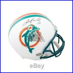 Dan Marino Autographed Miami Dolphins Full-Size Football Helmet BAS COA