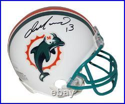 Dan Marino Autographed Miami Dolphins TB 1997-2012 Mini Helmet JSA 29930