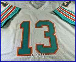 Dan Marino / Autographed Miami Dolphins White Custom Football Jersey / Jsa Coa