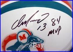 Dan Marino Autographed Signed Dolphins Full Size Helmet 84 Mvp Beckett 137985