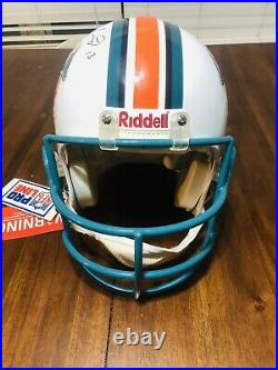 Dan Marino Autographed Signed Miami Dolphins Riddell Authentic Proline. Steiner
