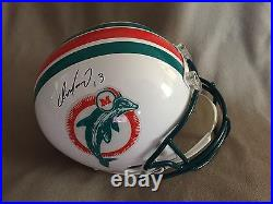Dan Marino & Bob Griese Miami Dolphins Signed Full Size Replica Helmet