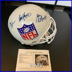 Dan Marino Don Shula Miami Dolphins Greats Signed Full Size Helmet With JSA COA