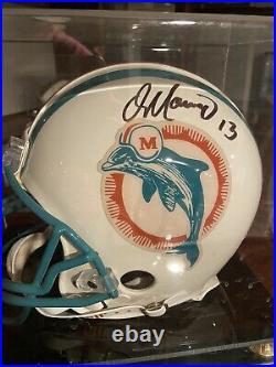 Dan Marino Hand Signed Miami Dolphins Full Size Authentic Riddell Helmet