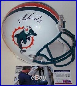 Dan Marino Hand Signed Miami Dolphins Full Size Football Helmet Psa