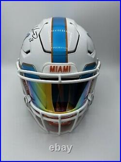 Dan Marino Loaded Speed Flex Autographed Helmet w Last To Wear #13 Inscription