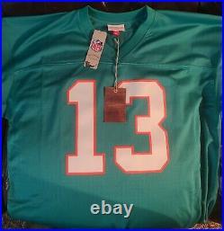 Dan Marino Miami Dolphins Autographed Auto Mitchell & Ness Jersey Fanatics HOF