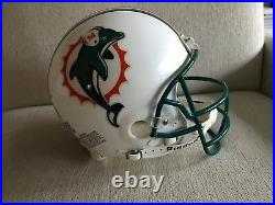 Dan Marino Miami Dolphins Autographed Hall of Fame Pro Helmet 317/1313