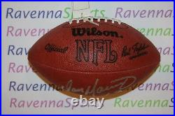 Dan Marino Miami Dolphins Autographed Wilson Tagliabue Football JSA