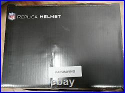 Dan Marino -Miami Dolphins- Full Size Autographed Helmet! 2020 Leaf Edition! COA