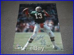 Dan Marino Miami Dolphins, Hof 05,1984 NFL Mvp Psa/dna Signed 30x40 Photo