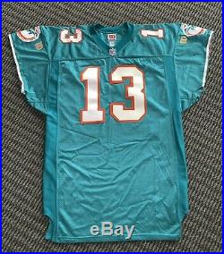 Dan Marino Miami Dolphins Professional Model Jersey Signed With Game Use 1996