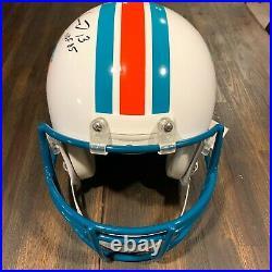 Dan Marino Miami Dolphins Signed Auto Authentic Proline Helmet with HOF Inscribed