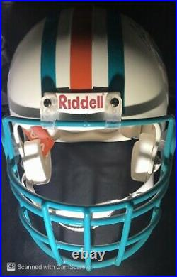 Dan Marino Miami Dolphins Signed Autographed Full Riddell Helmet JSA COA