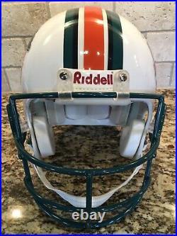 Dan Marino Miami Dolphins Signed Hall of Fame Authentic Helmet 214/1313- MM COA