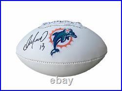 Dan Marino Miami Dolphins Signed Logo Football Jsa