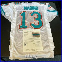 Dan Marino Signed 1980's Wilson Miami Dolphins Game Issued Pro Cut Jersey JSA