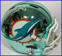 Dan Marino Signed Autographed Miami Dolphins Chrome Football Helmet F/s Psa/dna