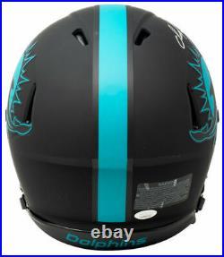 Dan Marino Signed Dolphins Full Size Speed Authentic Eclipse Helmet JSA